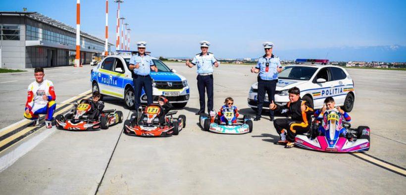 Polițiștii sibieni: Susținem și încurajam consumul adrenalinei într-un mod responsabil