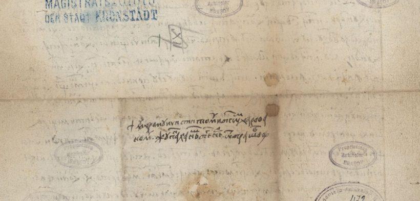 500 de ani de la atestarea primului document în limba română