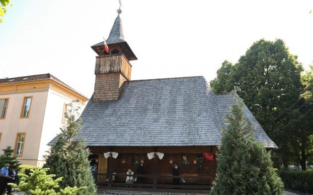 Hram la biserica Spitalului Judeţean din Sibiu