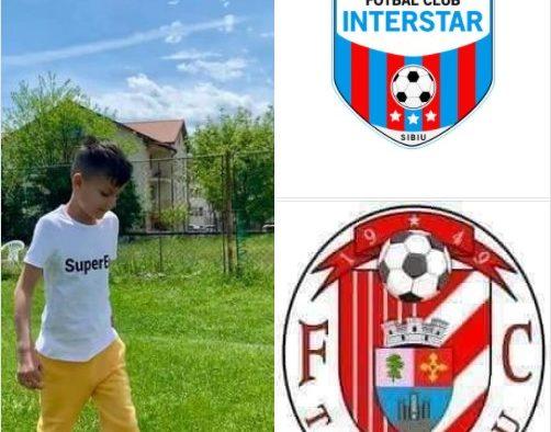 Juniorii echipelor de fotbal FC Interstar Sibiu și FC Tălmaciu se confruntă în scop caritabil