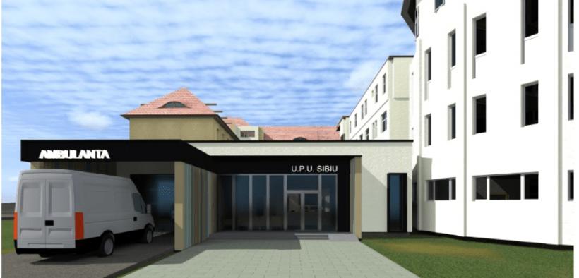 START pentru extinderea Urgenței de la Spitalul Județean Sibiu