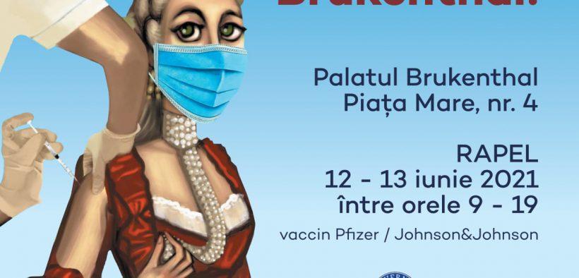 Vaccinează-te cu stil, la Muzeul Național Brukenthal