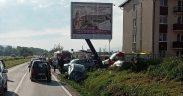 Trei persoane, victimele unui accident produs pe Calea Șurii Mici