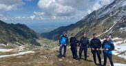 Jandarmii montani asigură siguranța turiștilor în stațiunile montane Păltiniș și Bâlea