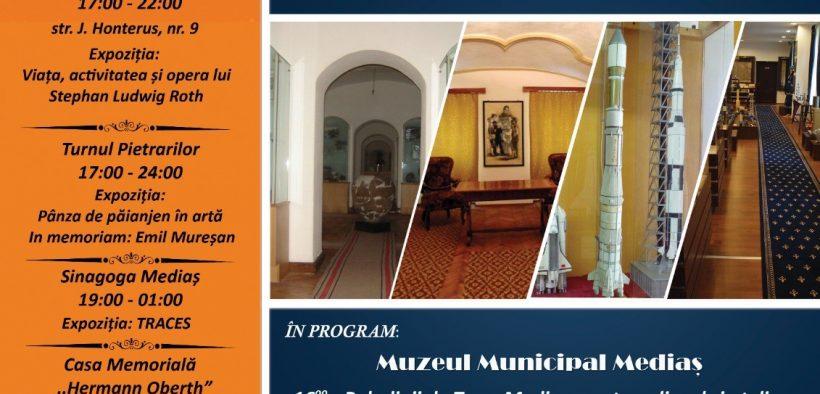 Gamă diversificată de evenimente la Noaptea Muzeelor Medieșene