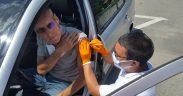Începe vaccinarea în Parcarea Cazarma 90 cu serul produs de Johnson&Johnson