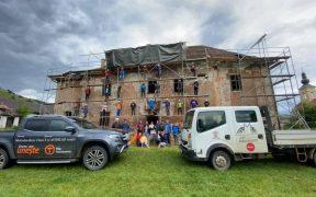 Primăria Micăsasa anunță marcarea traseului Via Transilvanica și stadiul lucrărilor de punere în siguranță a Castelului Brukenthal