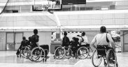Baschet pentru persoanele cu dizabilități, la Sala Transilvania