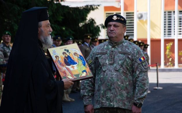 ÎPS Laurenţiu a participat la ceremonia de inaugurare a Comandamentului N.A.T.O. din Sibiu