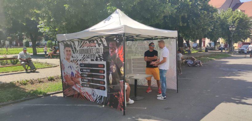 Gaz Metan Mediaş a dat startul achiziției de bilete