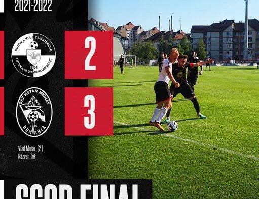 Gaz Metan Mediaş a învins FK Csikszereda, scor 3-2, într-un meci amical