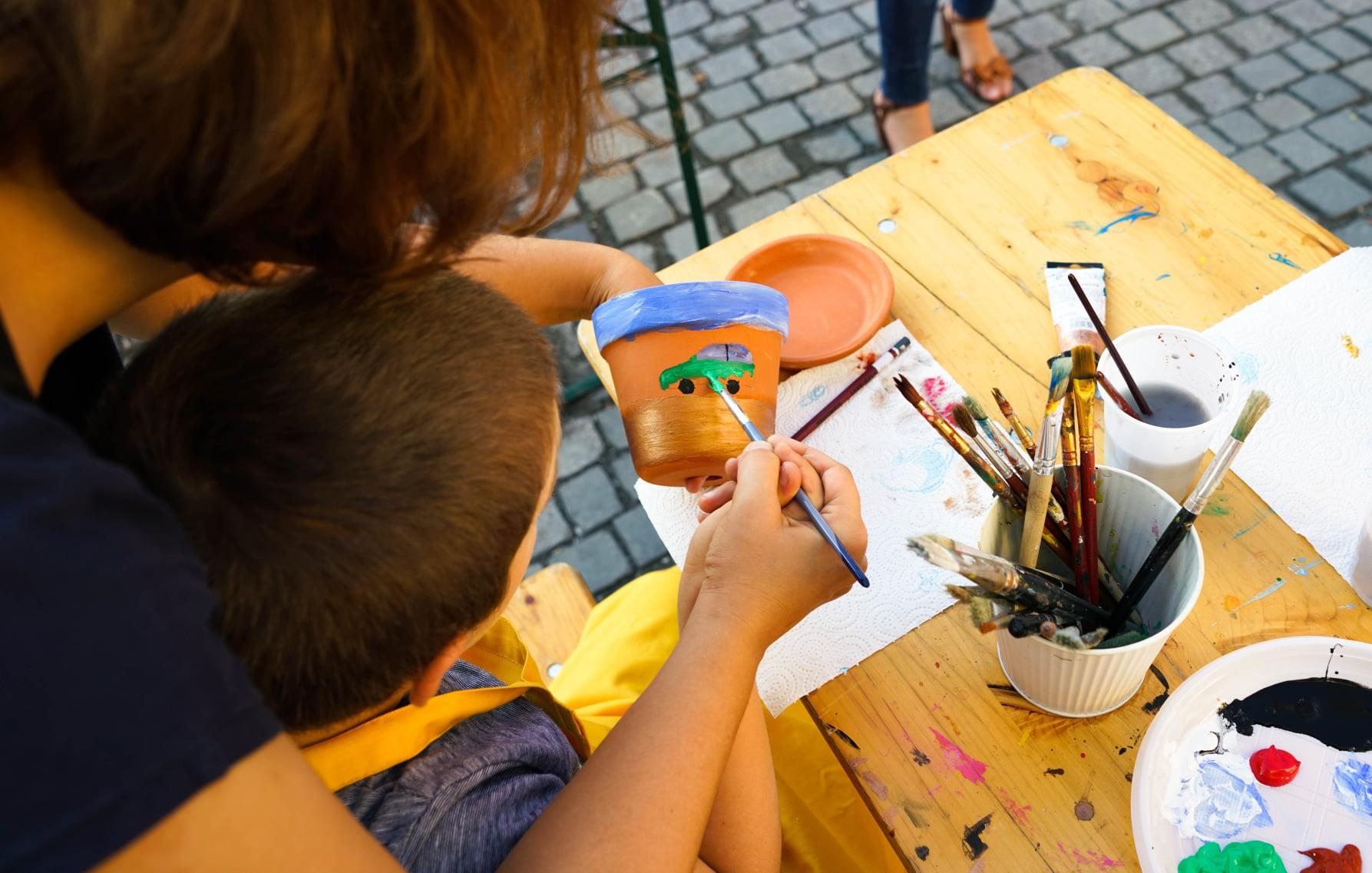 Orașul Artiștilor a revenit în Piața Mică