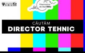 Filarmonica de Stat din Sibiu angajează director tehnic