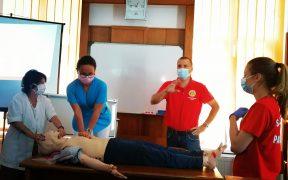 Cadre medicale din Spitalul de Pneumoftiziologie Sibiu au participat la cursuri de resuscitare