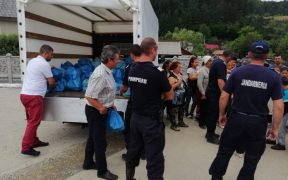 Arhiepiscopia Sibiului a oferit ajutoare sinistraţilor din Apuseni
