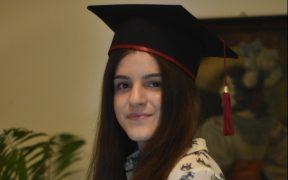 Daria Covrig, absolventa de 10 a CNOG-ului, va studia un program interdisciplinar la Tilburg University, în Olanda