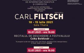 """Gala laureaților și finala Concursului de pian """"Carl Filtsch"""" se desfășoară alături de Orchestra Filarmonicii Sibiu"""