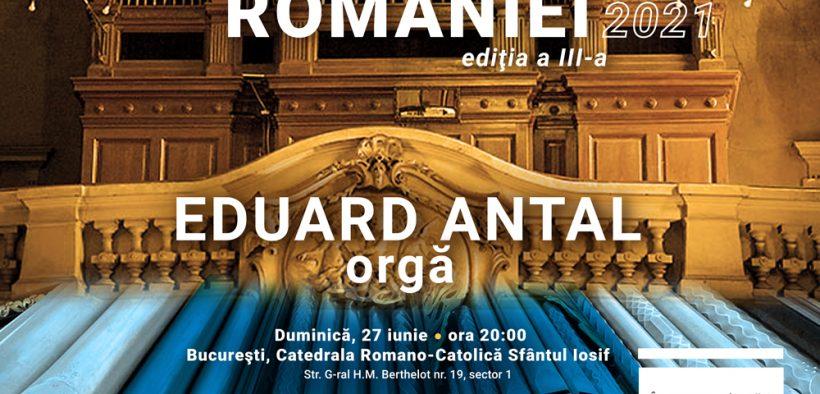 """Turneul naţional """"Orgile României"""" ajunge la Sibiu, în Festivalul Româno-American"""