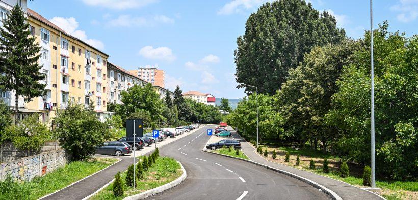 Legătura nouă Sibiu – Șelimbăr pe strada Oașa, finalizată