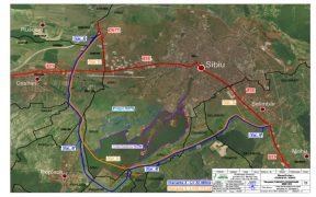 Studiul de fezabilitate, contractat de Consiliul Județean Sibiu pentru Varianta Ocolitoare Sibiu Sud
