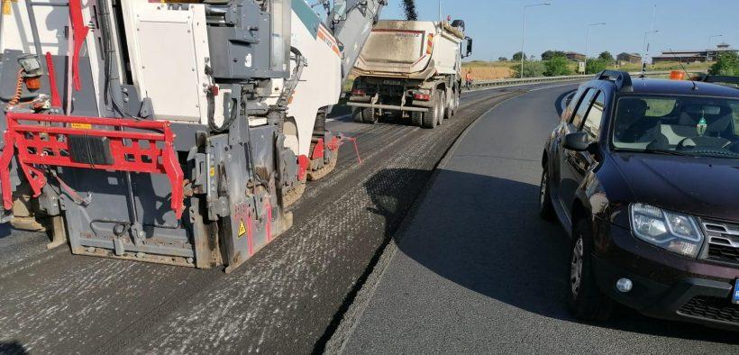 Se restricționează circulația pe pe autostrada A1 Sibiu-Deva