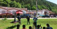 Jandarmii montani - profesori de șah pentru 55 de copii