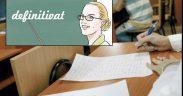 284 de candidați susțin examenul de definitivat