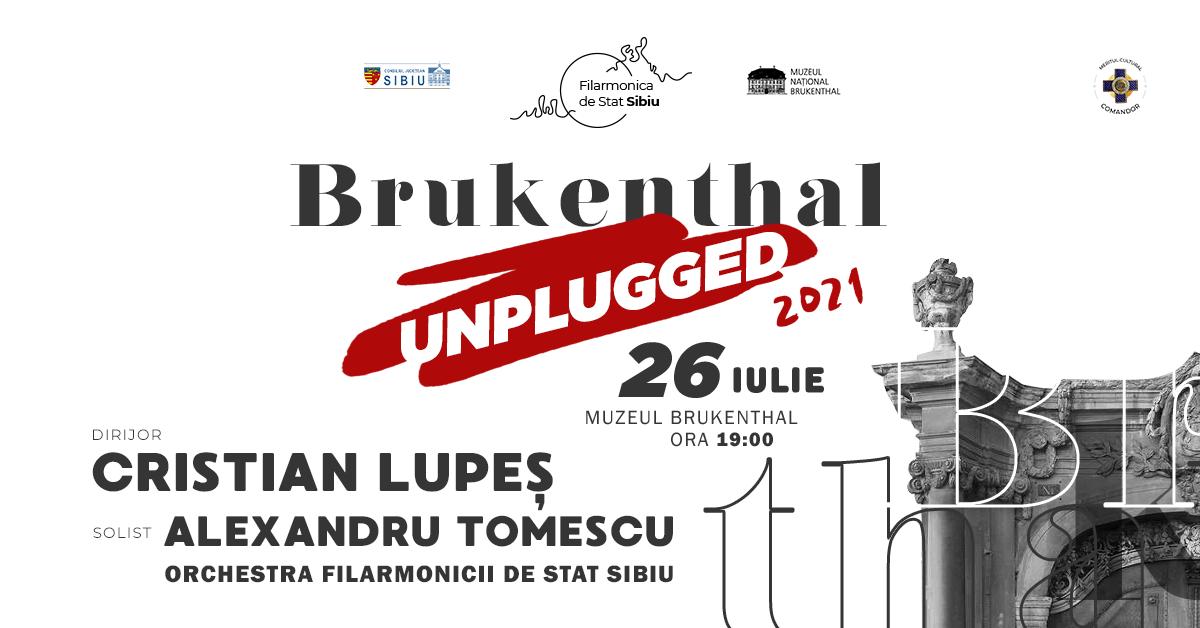 """Concerte la Sibiu și Deva în cadrul proiectului """"Brukenthal Unplugged"""""""