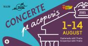 Începe CONCERTE PE ACOPERIȘ, festivalul serilor calde de vară la Sibiu