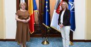 Noul Consul General al Germaniei la Sibiu, în vizită la Primăria Sibiu