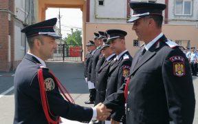 ISU Sibiu a avansat în grad 86 de cadre militare