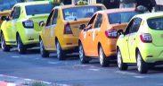 65 de taximetriști sibieni amendați pentru că aruncau chiștoace pe stradă