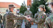 Prima ceremonie militară din viața de cadet, la AFT Sibiu
