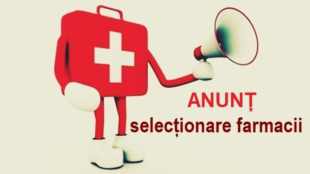 """Spitalul Militar de Urgenţă """"Dr. Alexandru Augustin"""" din Sibiu organizează selecţionarea unor farmacii"""