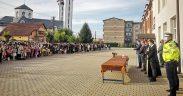 FOTO Peste 1.600 de elevi au început, luni, noul an școlar la Avrig