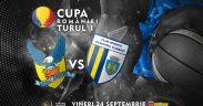 BC CSU Sibiu ia startul în competițiile oficiale pe teren propriu, cu meciul tur din Cupa României