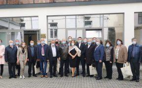 Președinți și vicepreședinți ai 13 raioane din Republica Moldova, în vizită la CJ Sibiu