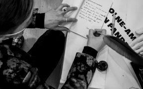 Interviu Iustian Turcu despre cartea de poezii lansată: Aș spune că este un volum al prietenie