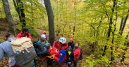 FOTO- 13 persoane, selectate în echipa de voluntari ai Serviciului Public Județean Salvamont Sibiu