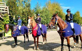 """Sportivii Team Bucur și CSM Sibiu au """"confiscat"""" podiumul la echitație în Finalele Campionatului seniori, juniori și amatori II"""