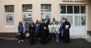 """Studenţi ai Facultăţii de Teologie din Berna, Elveţia, au vizitat Tipografia """"Şaguniana"""" a Arhiepiscopiei Sibiului"""