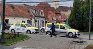 Dosar penal pentru un taximetrist, prins fără permis la Mediaș