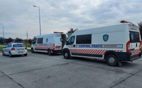 Foto- Transportul public de persoane și de marfă, în atenția polițiștilor și a inspectorilor I.S.C.T.R.