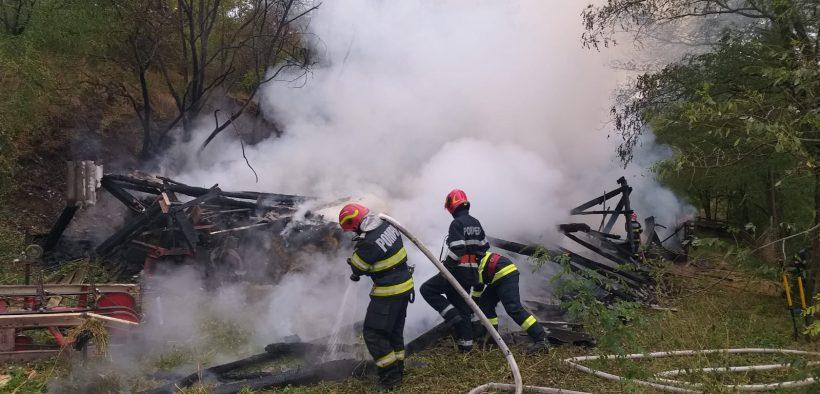 FOTO Pagube materiale, produse din cauza nerespectării măsurilor de apărare împotriva incendiilor