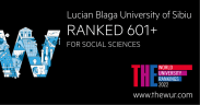 ULBS apare în clasamentul Times Higher 2022 pentru Științele Sociale