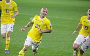 România urcă pe locul 2 în Grupa J, după victoria cu Armenia