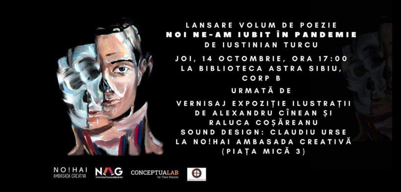 Tânărul actor Iustinian Turcu își lansează primul volum de poezii
